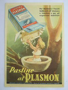 ADVERTISING-FOOD-PASTA PLASMON -ITALY-MILAN-V8V-X71972   eBay
