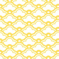 matsukata in citrine fabric by chantae on Spoonflower - custom fabric    #lemonzest