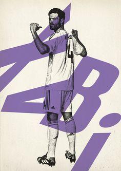 Sucker for Soccer by Zoran Lucić, via Behance