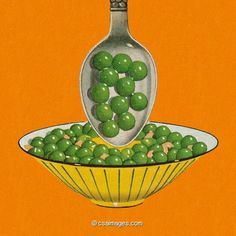 Bowl of Peas- csa images