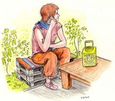 L'autre blog de Philgreff !: Bricolette (extrait de carnet)