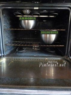 Can't WAIT to try this hack to clean my oven. REPIN FOR LATER