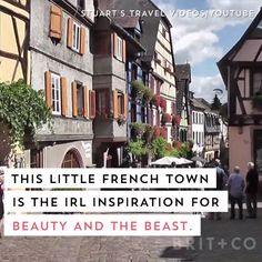 Live out your Disney dreams in this IRL Beauty and the Beast village.