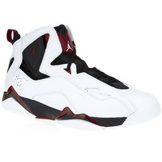 Jordan True Flight ($135) ❤ liked on Polyvore featuring men's fashion, men's shoes, men's sneakers, shoes, mens red sneakers, mens white leather shoes, mens leather shoes, mens red leather shoes and mens breathable shoes