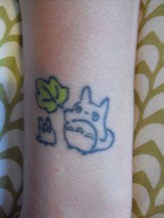 Totoro tattoo by ~sushi-sunday on deviantART