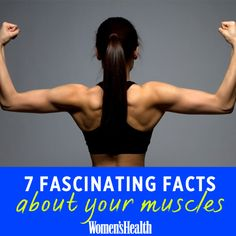 Get Fitness Expert, Monica Nelsons TOP Tips for Womens Health Magazine. 7 Fascinating Facts About Your Muscles http://www.womenshealthm...