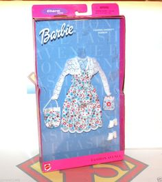 2000 Mattel Barbie Doll Fashion Avenue Charm Styles outfit: Chasing Daisies ~NEW #Barbie