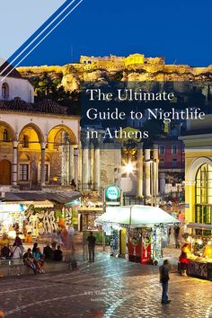 A guide to nightlife in Athens that will help you decide which nightlife scene suits you best and set you out on the most splendid night out in Athens city. Athens Nightlife, Athens City, Best Pubs, Best Places To Eat, Greece Travel, Night Life, Travel Guide, The Good Place, Scene