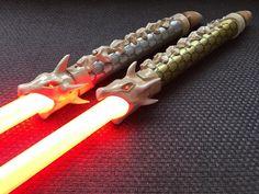 Lightsaber Design, Custom Lightsaber, Lightsaber Hilt, Star Wars Rpg, Star Wars Ships, Darth Nihilus, Star Wars Characters Pictures, Cool Swords, Lightsaber