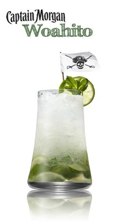 Mojito? More like Woahito. Mix up this summer classic with Captain Morgan White Rum and... put some loca in your boca. #cocktail #recipe