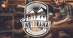 Motorama Youtube Channel | Logo Design | The Design Inspiration