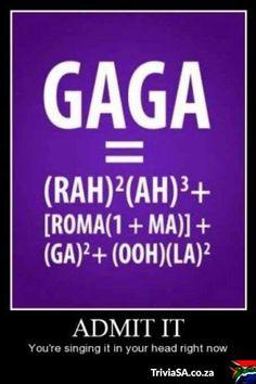 Gaga ooh-la-la