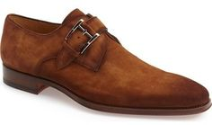 Magnanni 'Enrique' Monk Strap Shoe (Men)