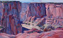Canyon de Chelly Arizona Desert Original Oil Painting Art