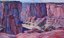 Canyon de Chelly Arizona Desert Original Oil Painting Art