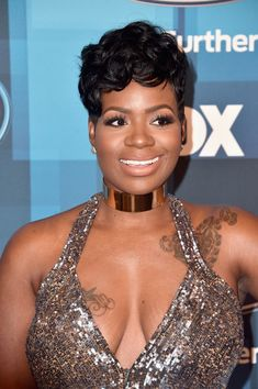 "Fantasia Barrino Photos Photos - Recording artist Fantasia attends FOX's ""American Idol"" Finale For The Farewell Season at Dolby Theatre on April 7, 2016 in Hollywood, California. - FOX's 'American Idol' Finale For The Farewell Season - Arrivals"