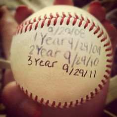 Baseball love ❤⚾ this is so sweet, I think