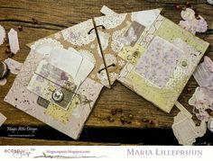 Magic Attic Design: Handmade photoalbum layout by Maria Lillepruun #Wycinanka