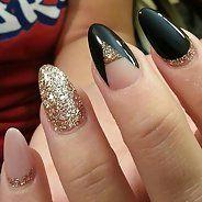 Миндалевидные ногти - Дизайн ногтей (15 фото)