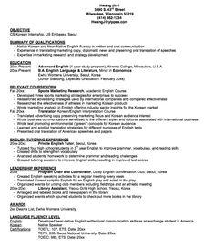 Sample Resume CSSA - http://exampleresumecv.org/sample-resume-cssa ...