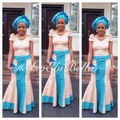 bellanaija asoebi aso ebi asoebibella nigerian traditional wedding guest gele 69