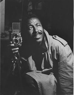 Gordon Parks and a Rolleiflex, a wonderful TLR to use.
