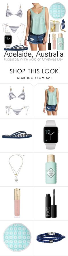 """""""Adelaide"""" by goingdigi on Polyvore featuring Melissa Odabash, RVCA, Reef, Kenneth Cole, Benefit, Smith & Cult, NARS Cosmetics, Swell and Phillip Gavriel"""