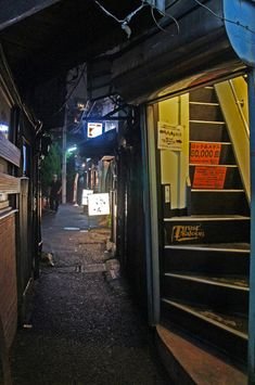 夜散歩のススメ「平和小路の横道」東京都品川区