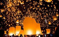 La magia delle luci danzanti: alla scoperta del festival delle lanterne di Mae Jo #thailandia #lanternevolanti