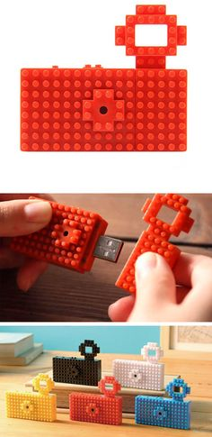Lego USB Camera - two-megapixel camera that takes both stills and videos.