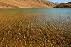 Golden Treasures of a Setting Sun by Rohit Chawla on 500px (Chandratal Lake - Spiti Valley - Himalayas)