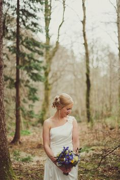 A Charlotte Balbier Bride For A Colourful, Spring Time, Scottish Countryside Inspired Wedding