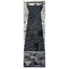 "Emmy Lou Packard ""Water Tower, Mendocino"" woodblock"