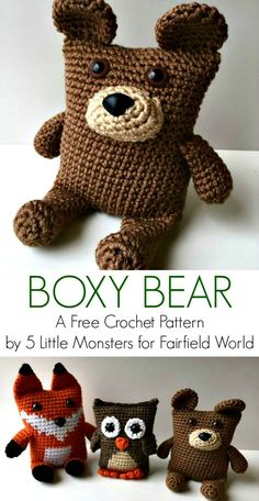 Here are free #Crochet #Teddy Bear Patterns that are all lovely and comes with such interesting free crochet patterns that everyone would love to grab them!