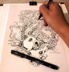 Doodle Draw Sketchbook By Kerbyrosanes On DeviantArt