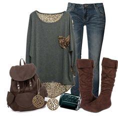 I want it all!! So loving the leopard print pocket!