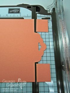 Details for making Scalloped Tag Topper Punch Card Closure on my blog!