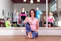 Pilates bij Wonen Plus Welzijn met Antoinet de Jong