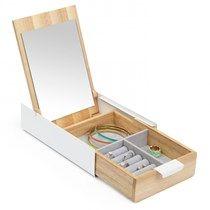 Organizador-multiuso-com-espelho-Umbra-20-x-14-cm