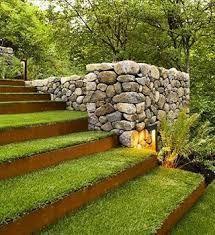 Image result for grass steps #rusticlandscapefrontyard