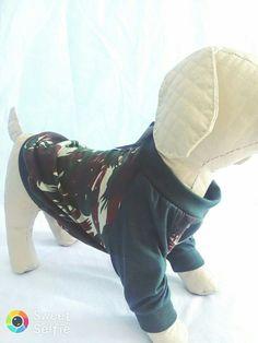 Camisa Camuflagem para pets