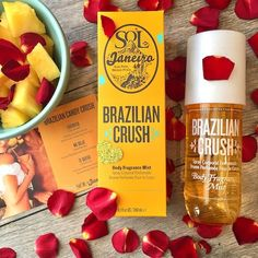 Shop Sol de Janeiro's Brazilian Crush Body Fragrance Mist at Sephora. It features an alluring pistachio and salted caramel scent. Skin Care Regimen, Skin Care Tips, French Beauty Secrets, Sephora, Perfume, Fragrance Mist, Beauty Care, Beauty Tips, Beauty Products