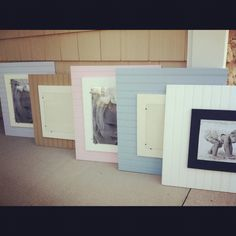 Beadboard frames by Silly Goose Boutique