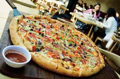 Kro's Nest serves the biggest pizzas in Beijing (come hungry)