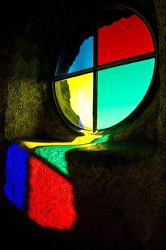 Fließendes Licht By Klaus Zala Stained Glass Art, Stained Glass Windows, Ombres Portées, Glass Cactus, Piet Mondrian, Glass Marbles, Color Theory, Color Photography, Colorful Pictures