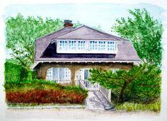 House portrait: Leigh House, Fire Island