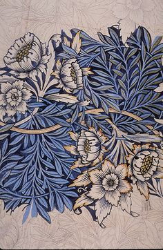 Tulip and Willow by William Morris (1873)