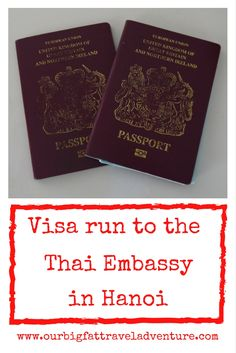 Our Thailand visa run to the Thai embassy in Hanoi, Vietnam was one of the smoothest we've done. Here's how to top up your Thai visa in Hanoi.