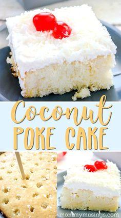 Coconut Poke Cake Re