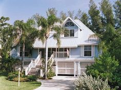 Eplans Cottage House Plan - Key West Island Style - 2257 Square Feet and 3 Bedrooms(s) from Eplans - House Plan Code HWEPL05536
